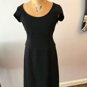 Black DVF body fitting dress in size 4.